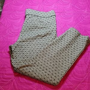 Briggs stretchy legging trousers with pattern 12P